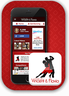 Dancing with Vincent and Flavia App